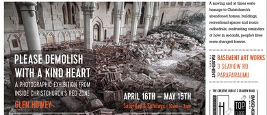 Please Demolish with a Kind Heart - Glen Howey Photographer