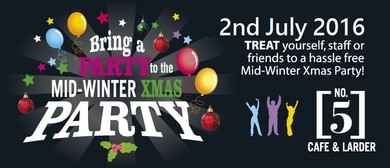 Bring Your Party to The Mid Winter Christmas Party 2016