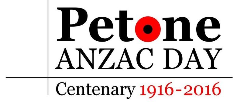 Centenary of Anzac Day - Petone Service