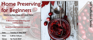 Home Preserving for Beginners