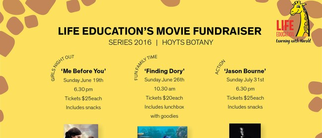 'Me Before You' Movie Fundraiser with Life Education