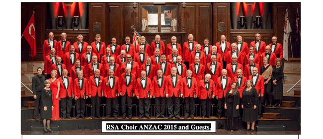 Dunedin RSA Choir ANZAC Review