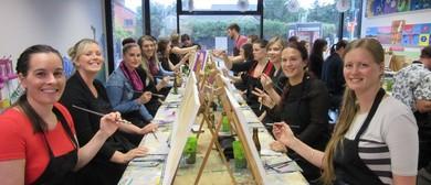 Paint 'n' Sip, Social Painting