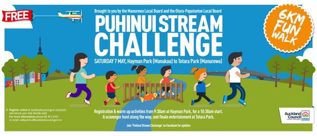 Puhinui Stream Challenge - 6km Fun Walk