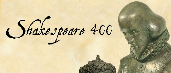 Shakespeare's 400th at Auckland Libraries