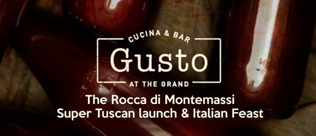 The Rocca Di Montemassi Super Tuscan Launch & Italian Feast