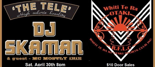 Reggae At The Tele - presented by Whiti Te Ra RLFC