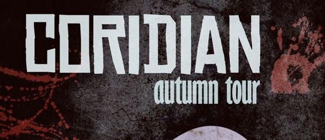 Coridian with The Eternal Sea, Whiplash & Ed Gein