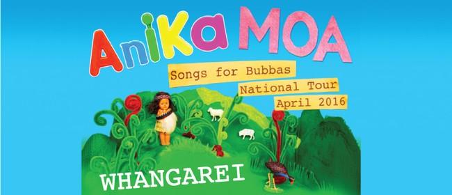 Anika Moa - Songs for Bubbas National Tour