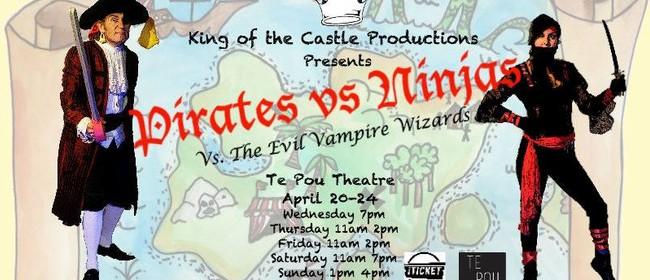 Pirates Vs. Ninjas Vs.The Evil Vampire Wizards