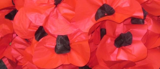 Trail of Poppies: Rotorua Poppy Making Workshops