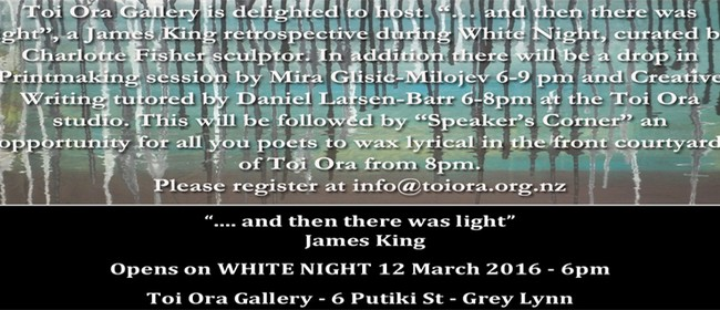 And Then There Was Light - A James King Retrospective