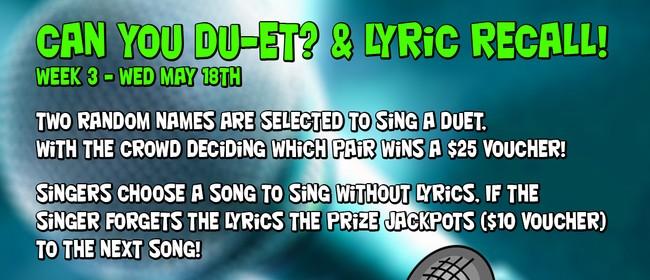 Karaoke LMP Extravaganza