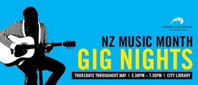 New Zealand Music Month - Gig Night