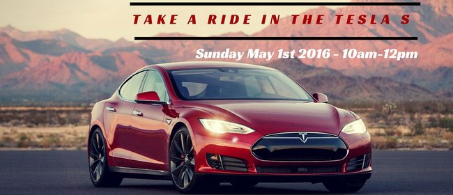 Grab a Ride In the Tesla Model S