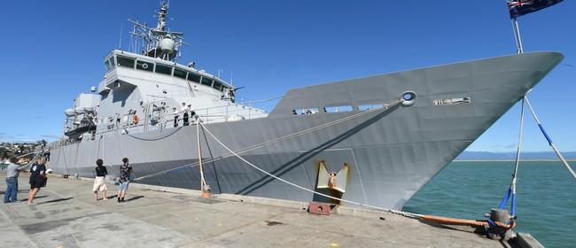 HMNZS Otago: Open Day