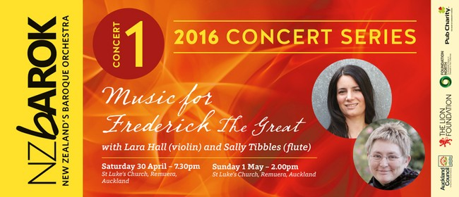 NZ Barok presents Music for Frederick the Great