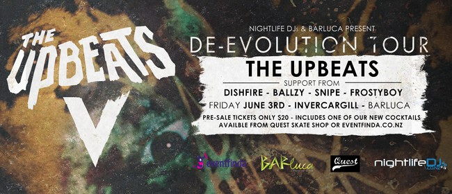 The Upbeats - De-Evolution Tour