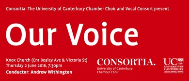 Consortia: The UC Chamber Choir presents ... 'Our Voice'