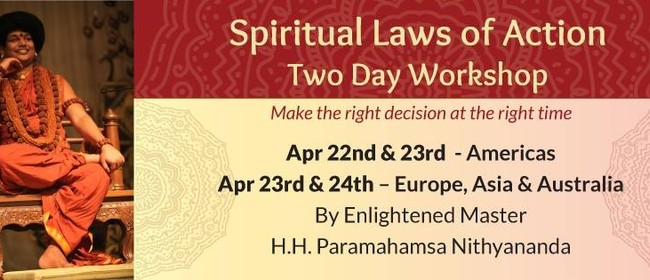 Spiritual Laws of Action - Weekend Meditation Workshop