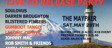 Taranaki Music Sessions Live CD  Release Party