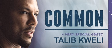 Common with very special guest Talib Kweli