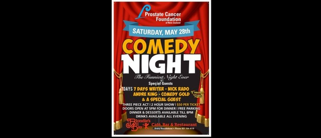 Prostate Cancer Charity Comedy Show