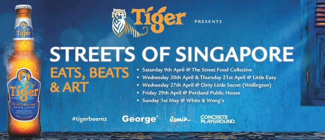 Tiger presents 'Streets of Singapore'
