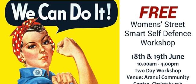 Women's Street Smart Free Self Defence 2 Day Workshop