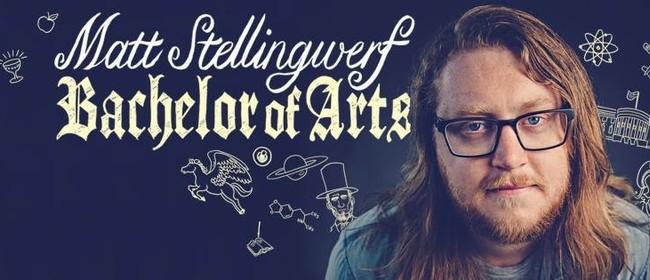 Matt Stellingwerf in Bachelor of Arts Wellington