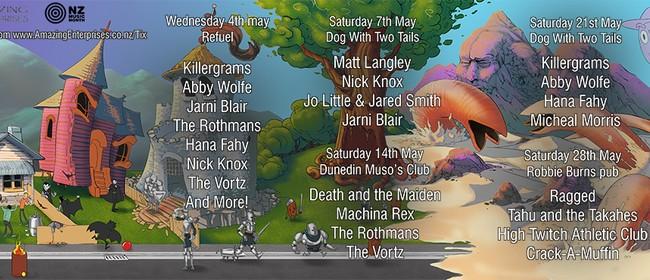 NZ Music Month - Taster Show