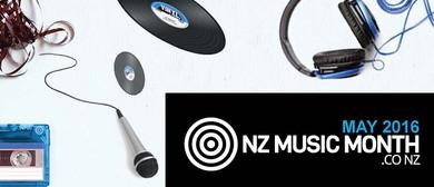 Andrew Scott - NZ Music Month 2016