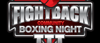 Fight Back Youth Boxing Tournament