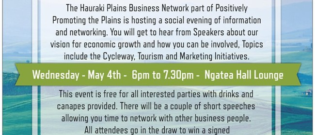 Launch of Hauraki Plains Business Network