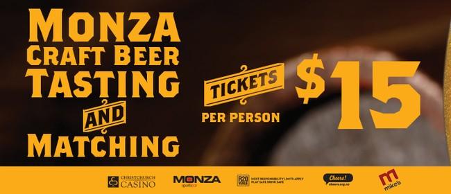 Monza Craft Beer Tasting & Matching