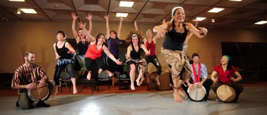 African Inspired Dance Workshop with Live drummers