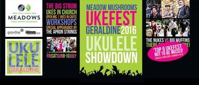 Geraldine Ukefest 2016 - Main Concert - Ukulele Showdown