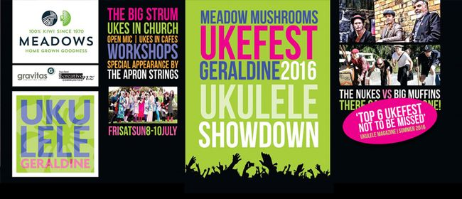 Geraldine Ukefest - Free Events