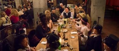 2016 Steampunk NZ Festival LVI Mess Dinner