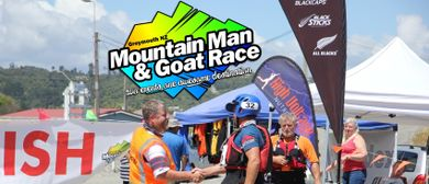 Mountain Man & Goat Race