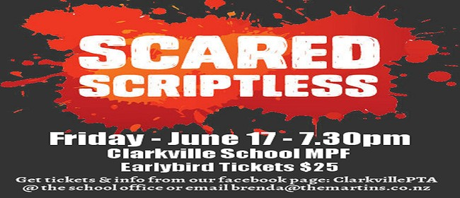 Clarkville School presents 'Scared Scriptless'