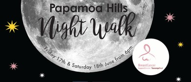Papamoa Hills Night Walk