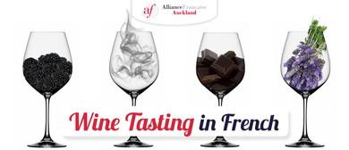 Wine Tasting In French
