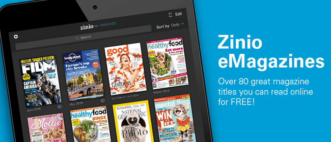 Get Started With Zinio eMagazines