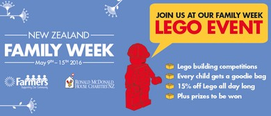 Ronald McDonald House Charities® Family Week - Lego event