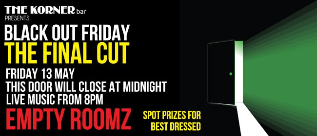 Black Out Friday With Empty Roomz