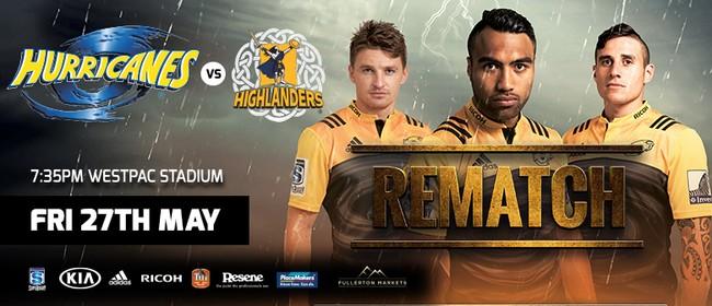 Super Rugby: Hurricanes vs Highlanders