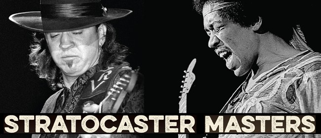 Jimi Hendrix and Stevie Ray Vaughan Stratocaster Masters
