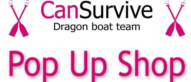 Pop Up Shop CanSurvive Dragon Boat Team