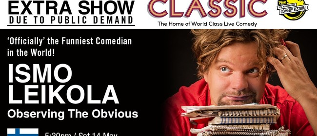 Ismo Leikola: Observing The Obvious - Auckland - NZHerald Events